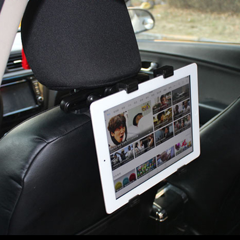 Universal Car Back Seat Tablet Headrest Mount Holder Stand Support For Ipad 2 3/4 Air DVD Car Headrest Mount For Tablet Black