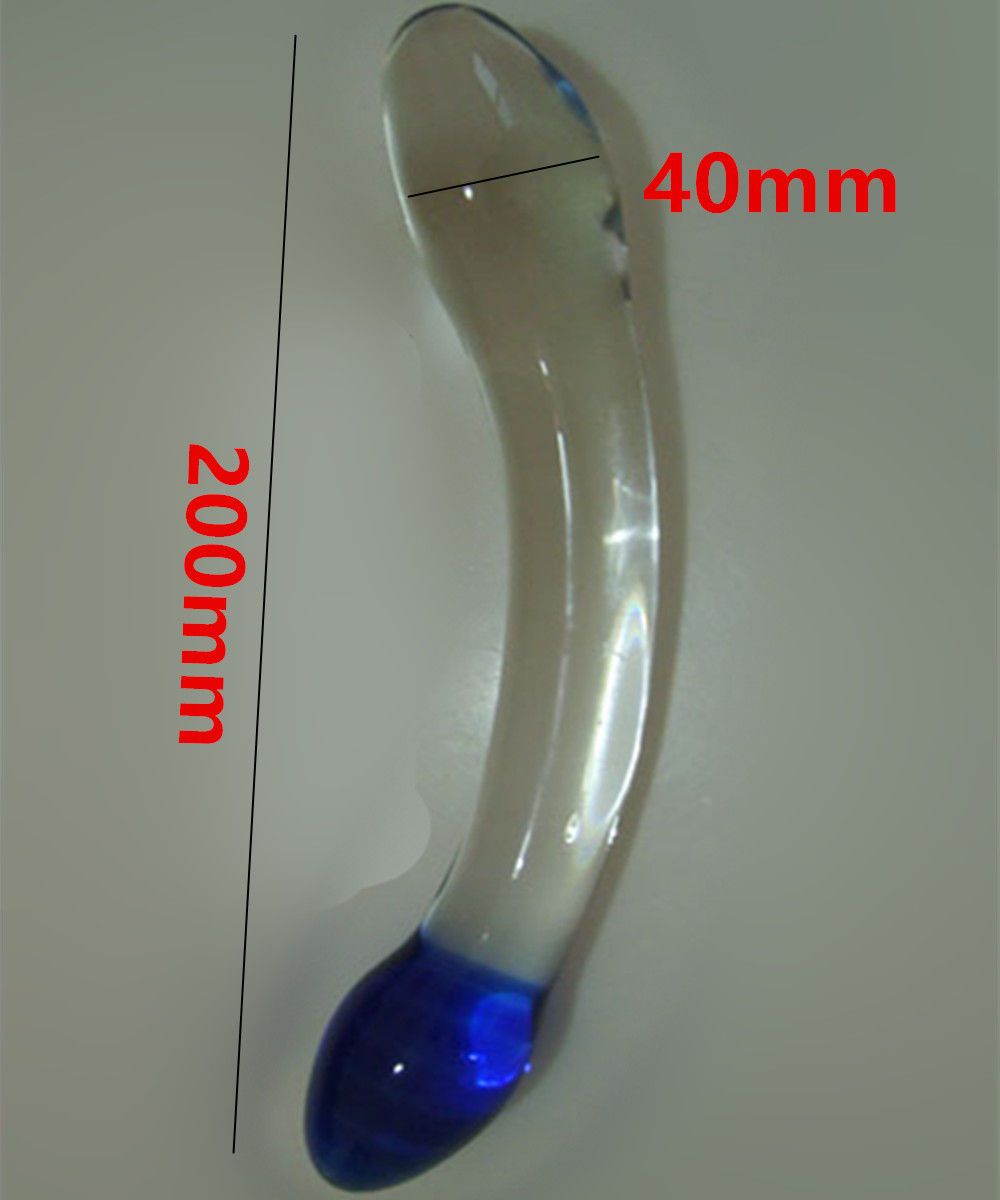 Erotic Anus Sex Toys For Women And Men Gay,20*4 CM Large Glass Penis Dildos Cock Anal Pleasure Beads Butt Plug In Adult Games new big fake dildos large anal butt plug convex design artificial penis vagina stimulate erotic sex toys anus massage for women