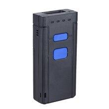 Portable 1D Bluetooth Sans Fil Barcode Scanner Portable Scanner pour windows OS Android pour Supermarché Express Société Entrepôt