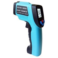 Promo offer GM550 Digital Infrared Thermometer Pyrometer Laser Outdoor Thermometer Celsius Thermometers