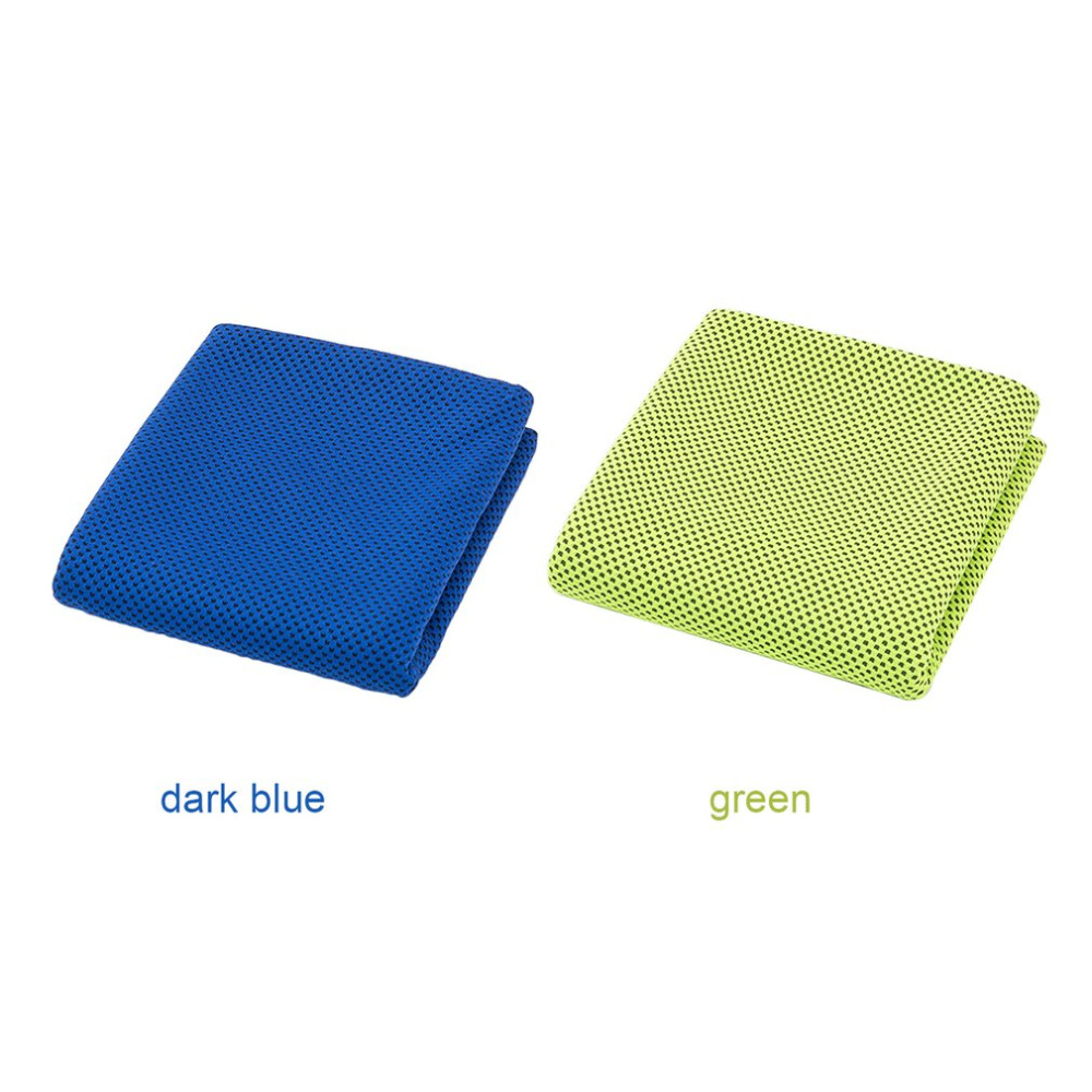 2017 Ultralight Compact Quick Drying Towel Icy Cold Cool Artifact Ice Camping Hiking Hand Face Towel Absorb Sweat Quick Cooling