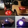 Wireless Auto Door Led Welcome Emblem Projection Laser Lamp for TURKEY FLAG 9V-32V  #1944*2