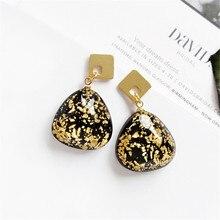 Fashion glass earrings 2018 ms For Women Hanging Dangle Earrings Drop Earing modern Jewelry