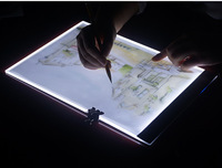 New Diamond Painting Cross Stitch Ultrathin 3 5mm A4 LED Light Tablet Pad Apply To EU