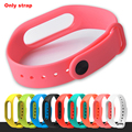 Xiaomi Mi Band 2 Bracelet Strap Miband 2 Colorful Strap Wristband Replacement Smart Band Accessories For Mi Band 2 Silicone