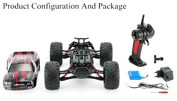 High Speed Off Road RC Cars Big foot Monster Truck Toy