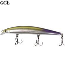 Super Minnow Lures Tungsten Weight System Long Casting New Model Fishing Hard Bait 110MM 11G Wobblers Jerkbait