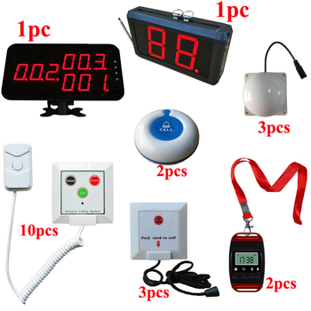 Ycall Display with Corridor Light And Call Button Watch Receiver Hospital Nurse Patient Bed Calling System