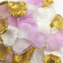 Pink Gold Rose Petals Wedding Decoration Artificial Flowers For Decoration  Silk Flowers Decorative Flowers   Wreaths e547f08b4644