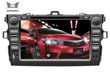 4 UI intereface combined in ONE system CAR DVD PLAYER FOR Toyota corolla 2007 2008 2009 2010 2011 big usb BLUETOOTH GPS camera