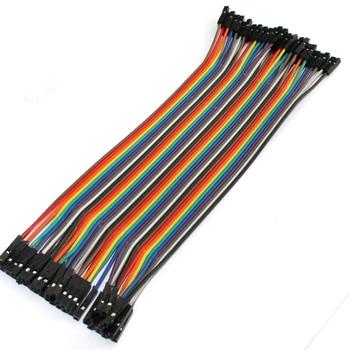 40-piezas-de-alambre-de-puente-Cable-Dupont-l-nea-2-54mm-hembra-a-hembra-Dupont