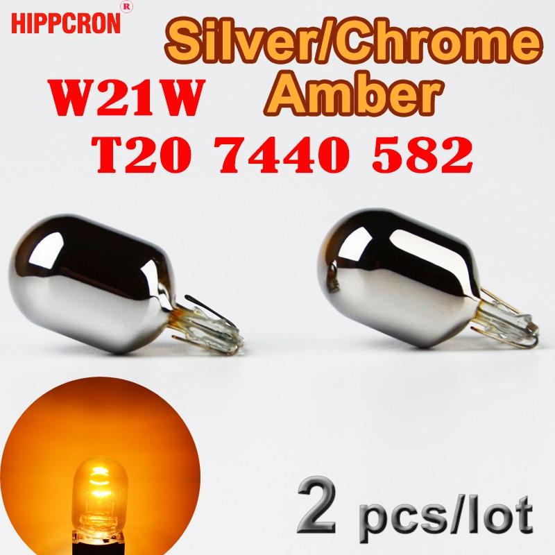 10 x Oryginal Vision W21W  W3 x 16d  12V 21W Bulbs