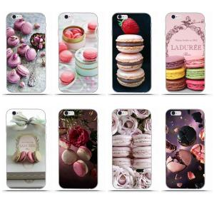 Paris Laduree Macaron Soft Accessories Case For Huawei G7 Y6 II Y7 For Xiaomi Redmi Note 2 3 5 Mi 3 4 4C 4I 5S 5X 6X 8 SE Pro