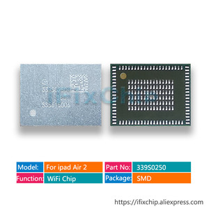 Image 1 - 10 ピース/ロットのための ipad air 2 のための ipad 6 高温 wifi ic 339S0250 (のみ無線 lan バージョンについて) A1566