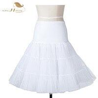 Short White Black Red Underskirt Vintage Rockabilly Petticoat Net Skirt Tutu Bridal Wedding Petticoat Accessories Skirt