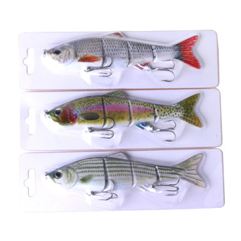 Online fishing lure Mixed 5 models fishing tackle 5 color 6cm13g Minnow lure Crank Lures Mix fishing bait Frog Fishing lures