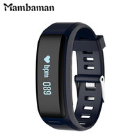 Mambaman XR01 Smart Bracelet Wristband Fitness Tracker Android Bracelet Smartband Heart rate Monitor PK xiaomi mi band 2 ID107