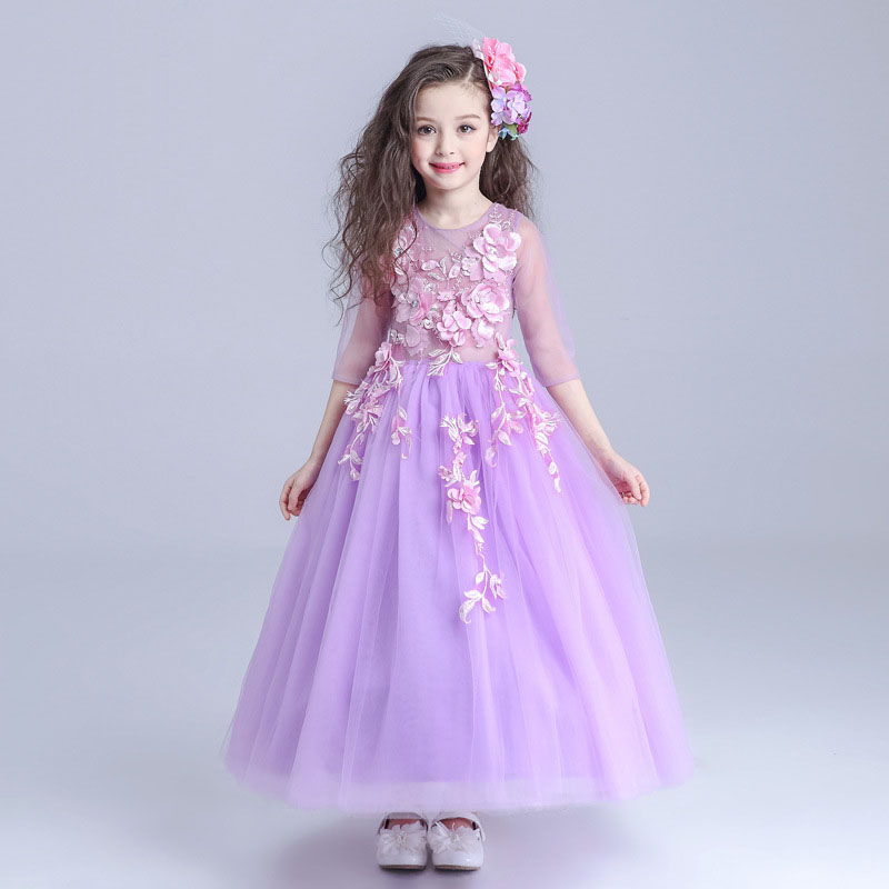 Flower girl dresses for weddings party 4 5 6 7 8 9 10 11 for 10 year old dresses for weddings