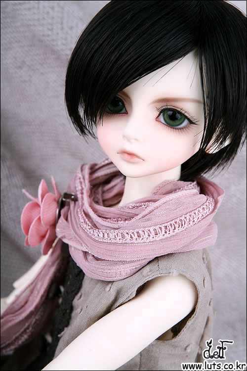 1/4 scale BJD lovely kid BJD/SD cute boy LUTS Delf BORY Resin figure doll DIY Model Toys.Not included Clothes,shoes,wig