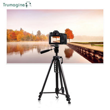 TRUMAGINE 1PC Professional Portable Travel Aluminum Camera Tripod&Pan Head For SLR DSLR Digital Self-Timer