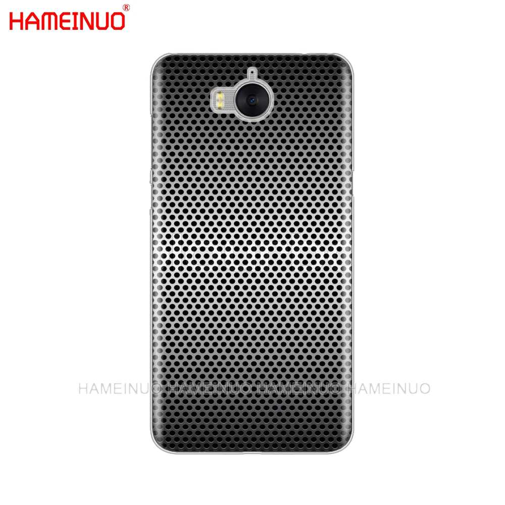 HAMEINUO xe sợi Carbon in di Cover dành cho Huawei Honor 3C 4X 4C 5C 5X6 7 Y3 y6 Y5 2 II Y560 2017
