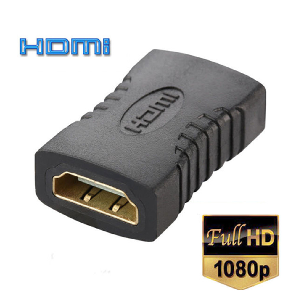 F Adapter Extender for HDTV HDCP 4k Connector HDMI Female to Female COUPLER F