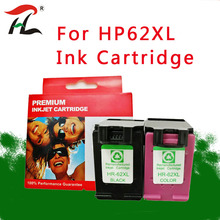 2PK  For HP62XL 62XL HP62 62 Ink Cartridge for HP 5640 5660 7640 5540 5544 5545 5546 5548 Officejet 5740 5741 5742 5743 Printer