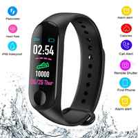 Smart Bracelet Sports Pedometer exercise Fitness Watch Running Walking Tracker Heart Rate Pedometer Smart Band