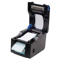 3 5 дюймов/с USB порт стикер принтер для печати штрих кодов термопринтер может напечатать qr код