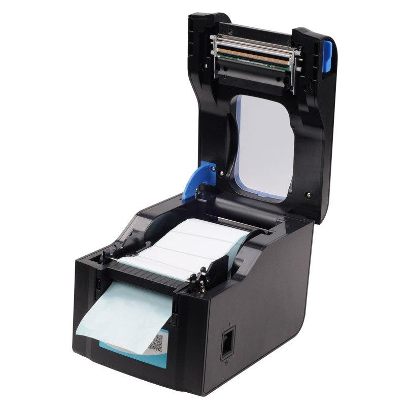3-5 pouces/s USB port autocollant imprimante code À Barres Imprimante D'étiquettes Thermique Imprimante Peut imprimer qr code