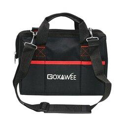 Goxawee Waterdichte Heavy Duty Sterke Opslag Gereedschapstas Wrench Schroevendraaier Tool Organisatoren Voor Gardon Hardware 12