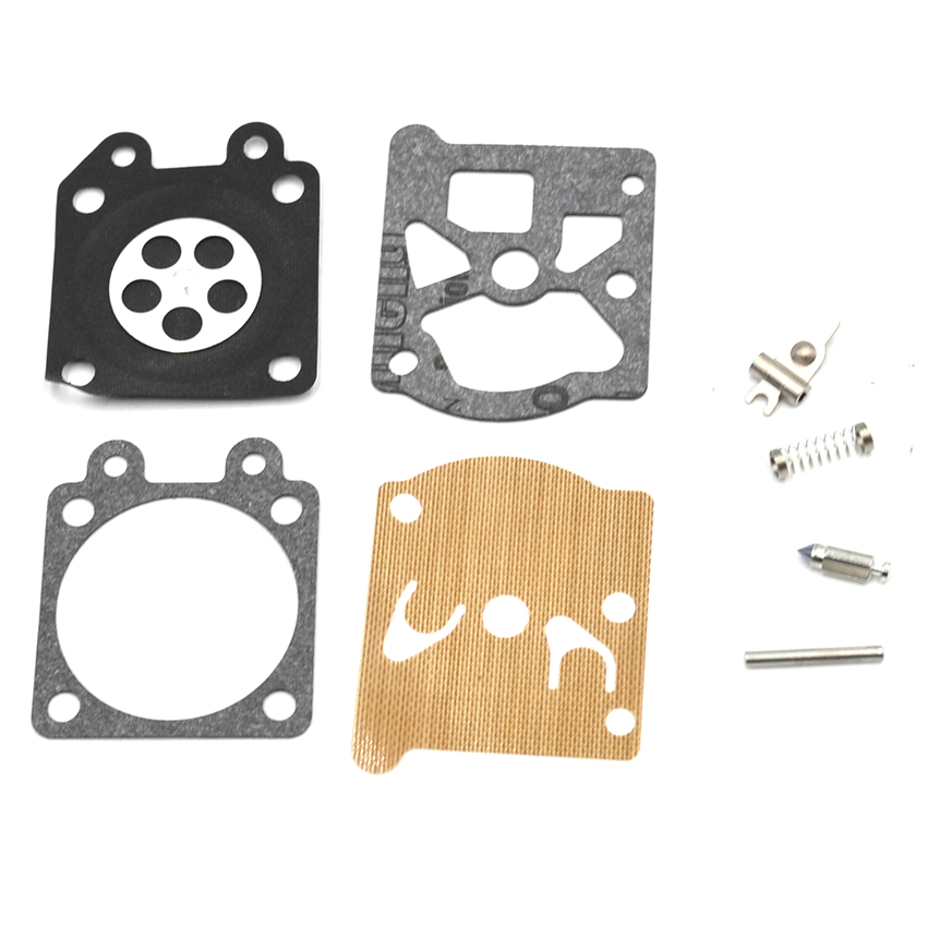 10 Set Walbro Carburetor Repair  Kit For STIHL MS 180 170 MS180 MS170 018 017 Chainsaw Replacement Parts 2 set throttle trigger interlock kit for stihl ms 180 170 ms180 ms170 018 017 chainsaw replacement parts 1130 182 0800 1130 18