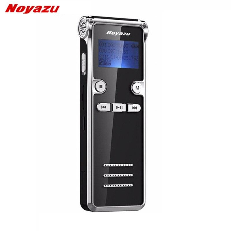 Noyazu 906 8G Mini Numérique Enregistreur Vocal Long temps 600 Heures D'enregistrement Longue attente Ditaphone Professionnel MP3 lecteur