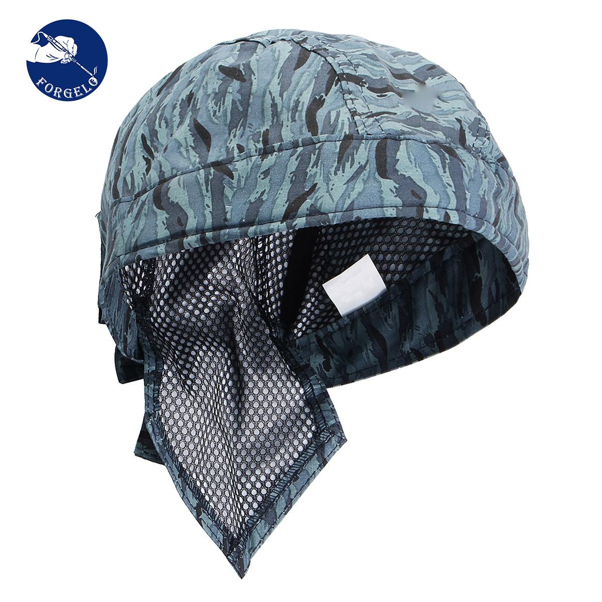 FORGELO bonnet de soudure élastique soudeurs à absorption de transpiration masque de protection pour casque de protection