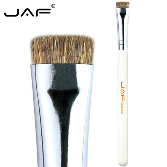 JAF 7pcs Makeup Brush Set High Quality Eyeshadow Eyebrow Eye Brushes Natural Animal Hair Make Up Brush Cosmetic Tool 25#701 5