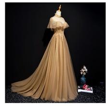 Длинное платье с рюшами на воротнике, украшенное бусинами рококо, средневековая драматическая сцена, платье Виктории Марии Антуанетты Белль оперы