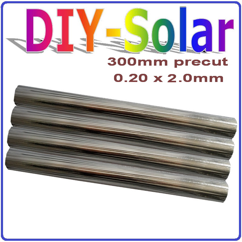 1kg Solar Cell Soldering Wire diy solar panels 0.2*2.0mm solar cell tab wire 300mm precut,156mm Mono Poly Solar Cell PV Ribbon