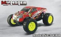 Hsp 94188 4WD 1 / 10th escala Nitro Off Road Truck Pivot Monster Ball suspensión 2.4 G radio P1