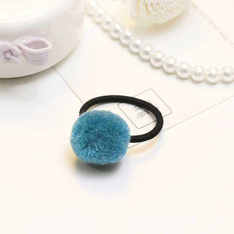 Детская эксклюзивная Меховая резинка для волос бабочка лента для волос ленты-бантики для волос милые эластичные детские аксессуары для волос