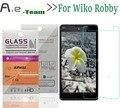 Aierwill Передняя Взрывозащищенный 0.3 мм 9 H + 2.5D Закаленное Стекло Пленка для Wiko Робби HD Clear Screen Protector Для Wiko Робби Телефон