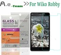 Aierwill Front Explosionproof 0.3mm 9H+2.5D Tempered Glass Film for  Wiko Robby HD Clear Screen Protector For Wiko Robby Phone