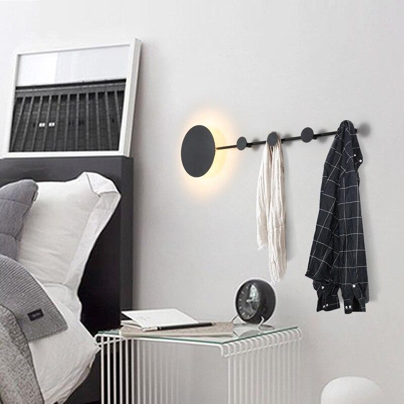 Lámpara de pared moderna para la pared del hogar Luz de dormitorio decoración colgante de iluminación interior soporte de suspensión de diseño creativo - 3