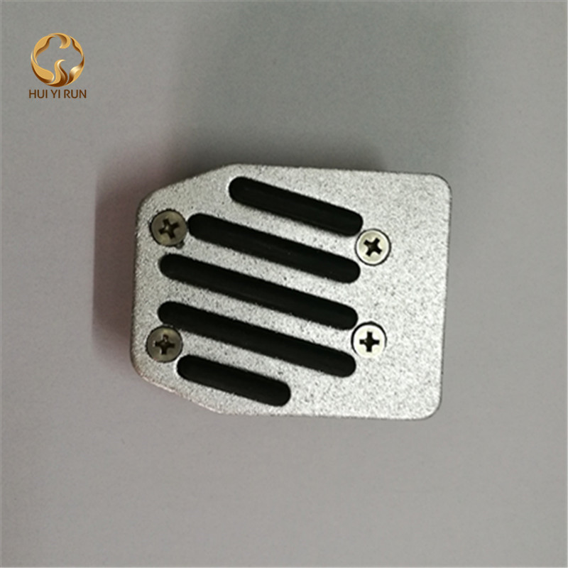 Motorcycle brake pedal cover refires refit accessories slip-resistant aluminum alloy footrest cap for yamaha suzuki
