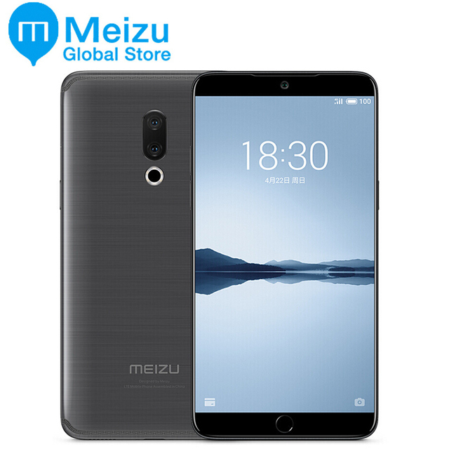 "Original Meizu 15 PLUS 6GB 64GB Exynos 8895 4G LTE Octa Core Smart Phone 5.95"" 2560x1440P Screen Fingerprint ID Fast charger"