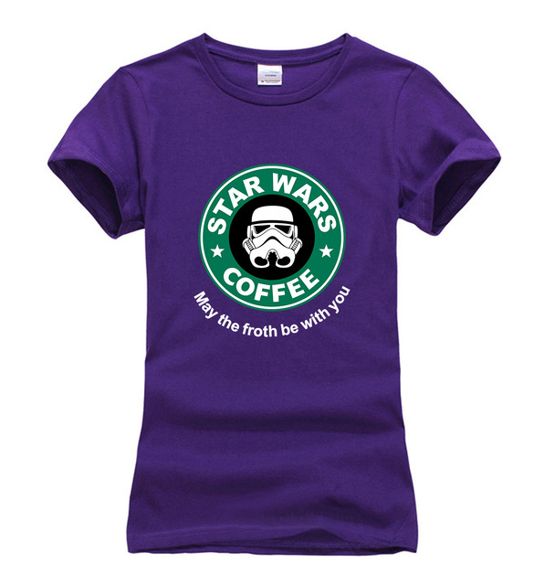 Star Wars Women T-Shirt – Coffee
