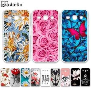 AKABEILA Soft TPU Phone Cases For Samsung Galaxy Star Advance G350E 4.3 inch Galaxy Star 2 Plus SM-G350E Covers Nutella(China)
