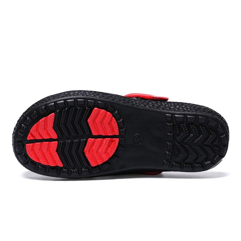 2018 Brand Lover Summer Sandals Saltwater Sandals Design Leisure EVA croc Men Beach Shoes Garden shoes Swords and Sandals