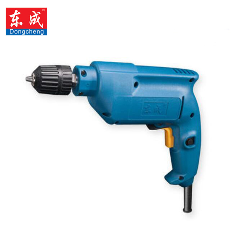 цена на Dongcheng Electric Drill electric screw driver matkap parafusadeira power tools 220V 500W Positive reversal Can speed