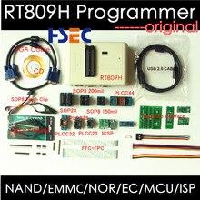 무료 배송 최신 범용 rt809h emmc nand 플래시 프로그래머 + 20 items sop8 플래시 어댑터 EMMC NAND rt809f보다 낫다.