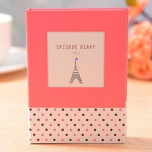 Hardcover Note Book With Memo Pad Sticky And Pen Inside Kawaii Girls Diary Notebook Stationery School Supplies